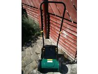 30cm hand push cylinder Lawnmower