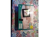 """Fujifilm 7"""" digital photo frame with remote control-barely used"""