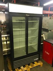 "43"" true double  sliding door fridge for only $1595! %99 new!"