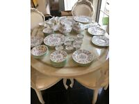 Haddon Hall Minton 71 piece dinner service