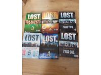 Lost series 1 to 5