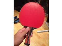Almost new Dunlop table tennis bat