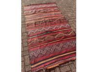 Vintage Afghan Kelim rug