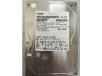 HGST 500GB HDD SATA 3.5 - Fully wiped hard drive