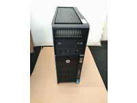 HP Z620 Workstation 16Cores/32T, 2x Xeon E5-2650v2, 64GB RAM, Quadro 5000, SSD for sale  Walthamstow, London