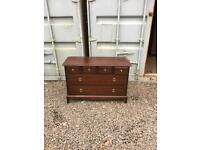 Upcycle stag Minstrel 6 drawer chest * free furniture delivery*