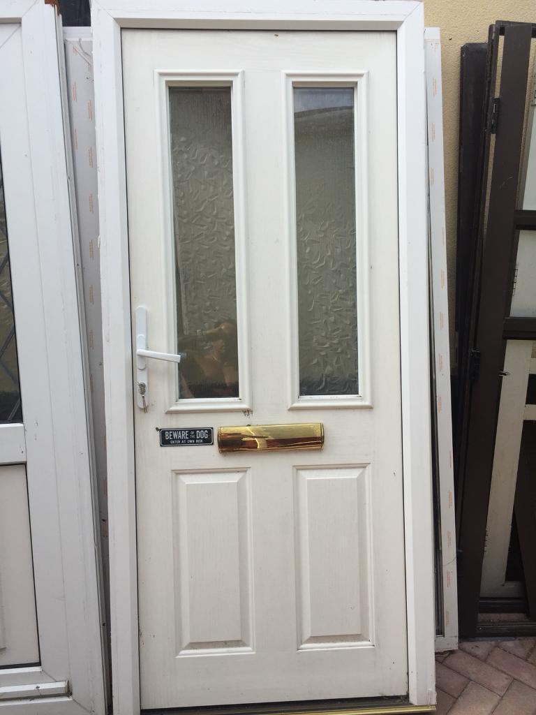 Upvc Composite Double Glazed Front Door In Waterlooville