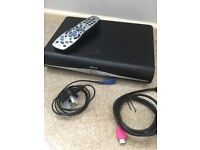 Sky+HD box all leads and remote, selling due to upgrade