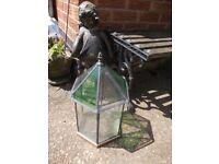 vintage terrarium mini greenhouse