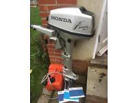 Honda 5hp longshaft outboard motor
