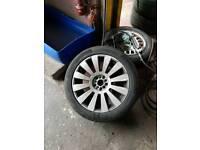 Audi A8 d3 18 inch alloy wheels vw golf