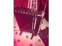 Swan black oil electric radiator