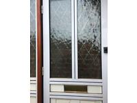 Double Glazed front door