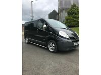 Mint 2008 Nissan Primastar full psv 6 Seater chrome bars take small trade in