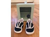Baby first Lacoste crib trainers size 0