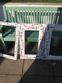 New but damaged frame windows