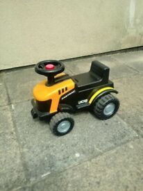 Jcb Tractor Ride on. Age 1-3