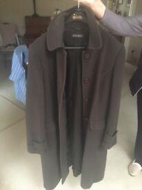 Alex&co chocolate brown coat