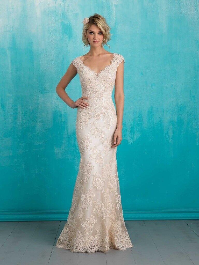Allure Bridals Designer Lace Wedding Dress | in Stratford-upon-Avon ...