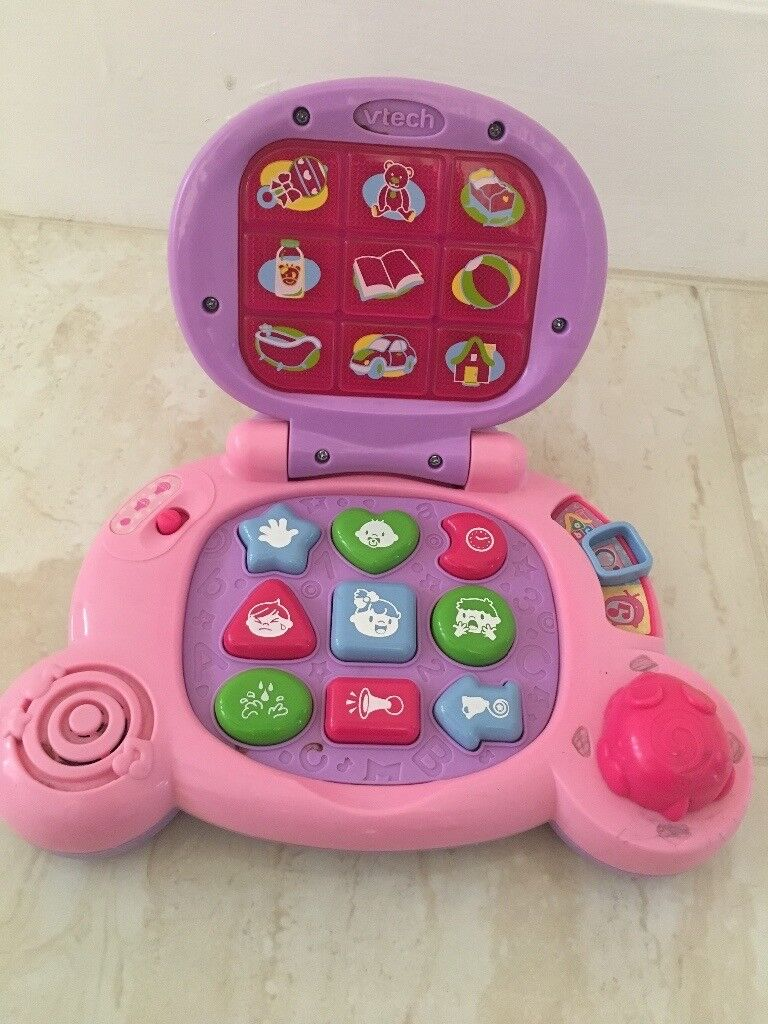 Vtech baby's Laptop in pink