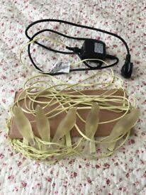 Ikea bird shaped string of 'fairy' lights indoor or outdoor