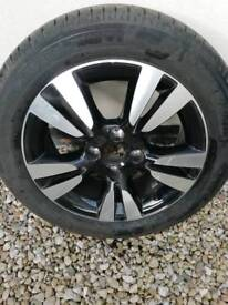 Citroen ds wheel and tyre