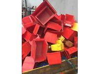 Loads of plastic storage containers 50p each