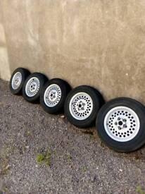 Classic Jaguar alloy wheels