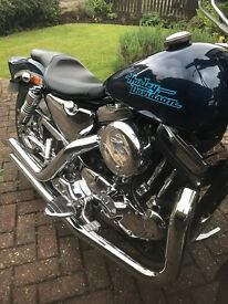 1986 Harley Davidson Sportster 883