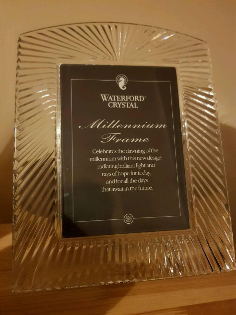 Waterford Crystal Millenium Frame