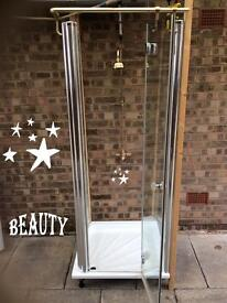 Shower unit and thermostatic shower only