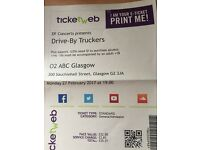 2 tickets for Drive By Truckers