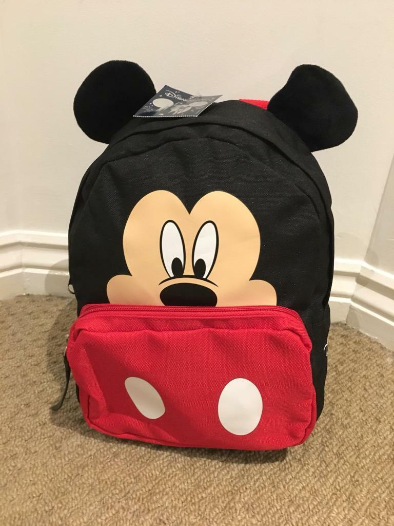04a56748d9a Brand NEW with tags Disneyland Paris Mickey Mouse Rucksack