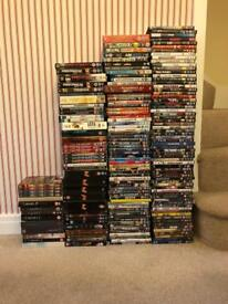 DVDs over 150 in total. (York collection only)