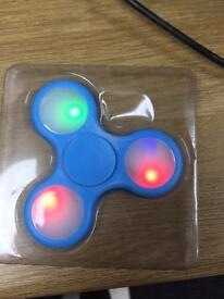 Fidget led spinners