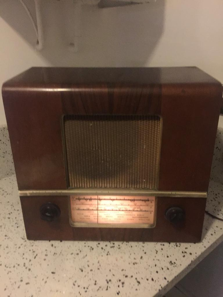 Antique Valve Radio