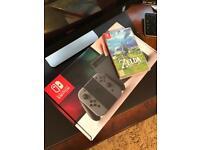 Nintendo Switch 32GB Grey + Zelda - Breath of the Wild