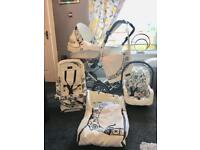Baby Style Lux 3 in 1 pram system