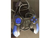 PS2 Controller Dual vibrating Analog 4Gamers control pad for PlayStation 2 game