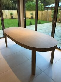 Calligaris Atelier extending dining table
