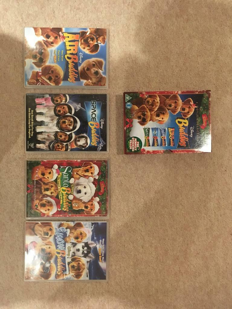 Box set of Disney Buddies Films