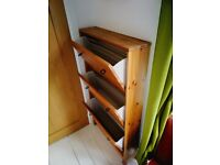 IKEA 3 drawer shoe cabinet antique stain