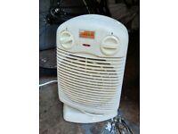 Small fan heater central London bargain