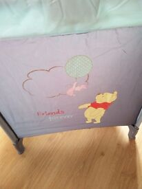 Travel Cot 'Winnie the Pooh'