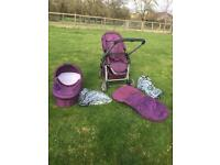 iCandy Cherry pushchair with carrycot