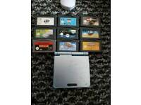 Gameboy advance sp with games