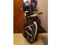 Golf Bag & Golf Clubs (Dunlop)