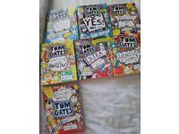 7 Tom Gates books.
