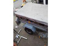 Daxara 107 tipper trailer