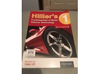 Hilliard fundamentals of motor vehicle thechnology booke 1 Sixth edition